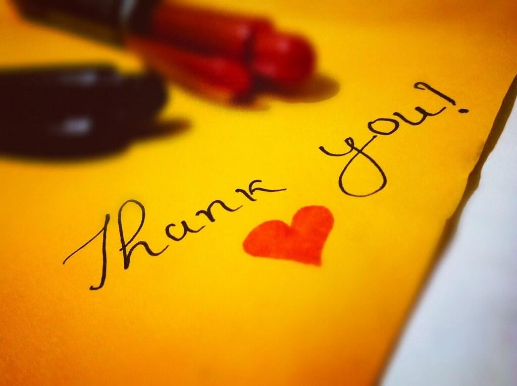 親切な対応ありがとうございます 英語